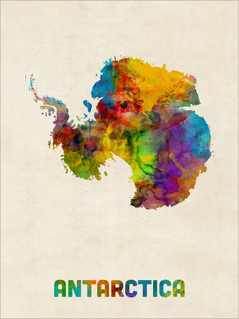 Antarctica Poster Art Print