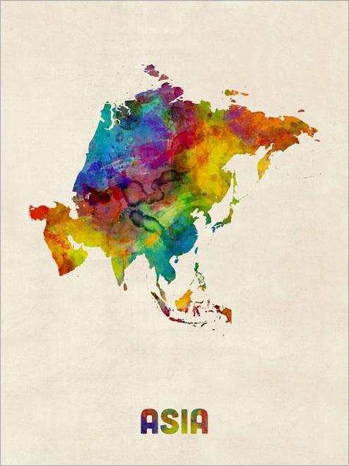 Asia Poster Art Print