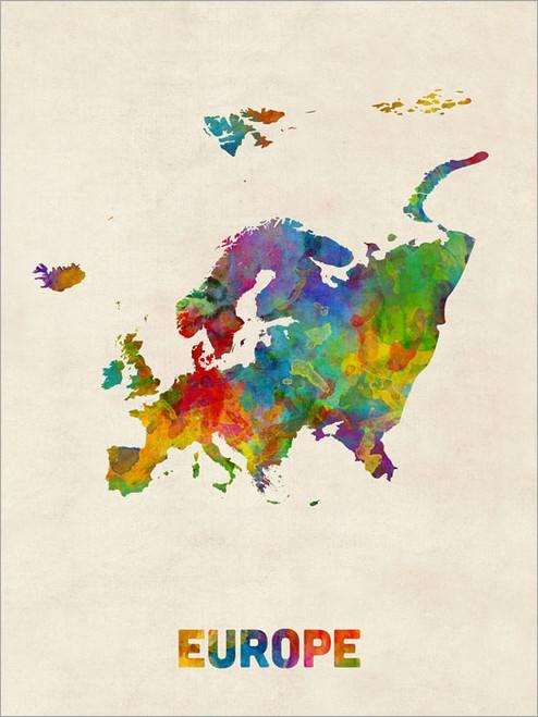 Europe Poster Art Print