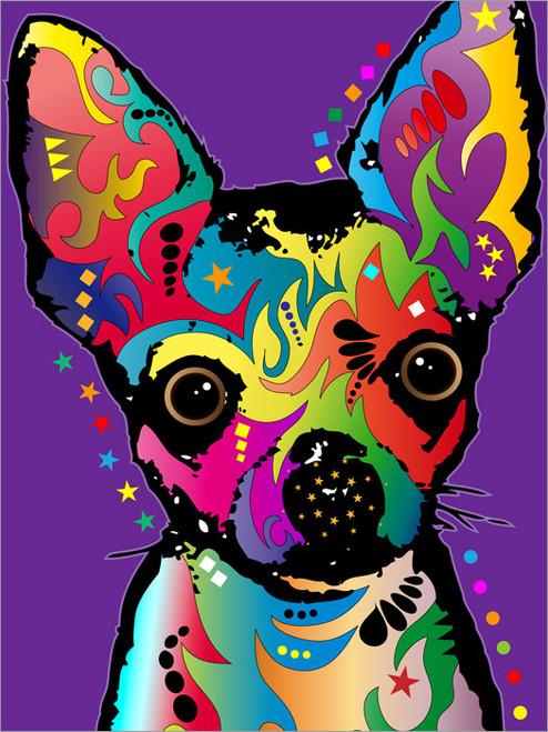 Chihuahua Poster Art Print