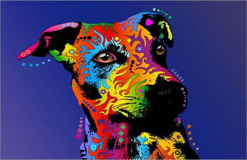 Jack Russell Poster Art Print