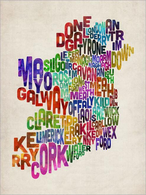Ireland Poster Art Print
