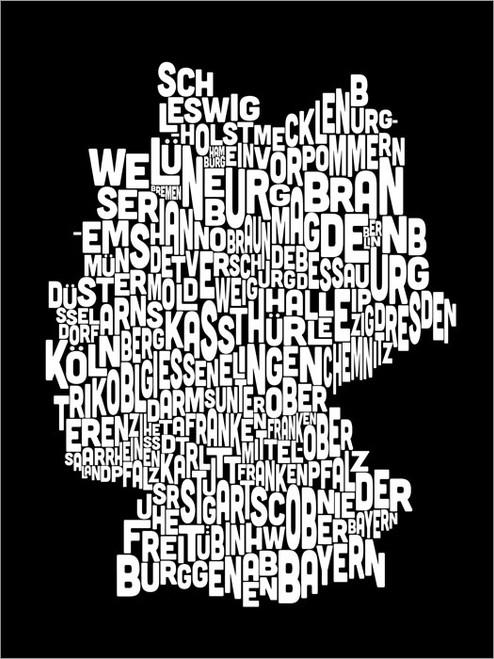 Germany Poster Art Print