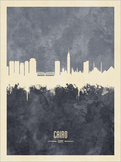 Cairo Egypt Skyline Cityscape Poster Art Print