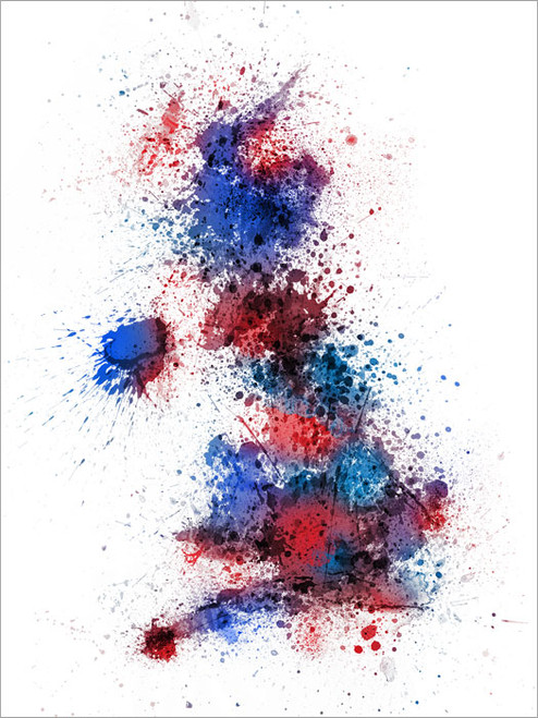 Map Poster Art Print