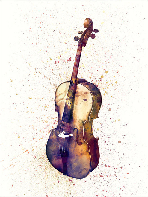 Cello Poster Art Print