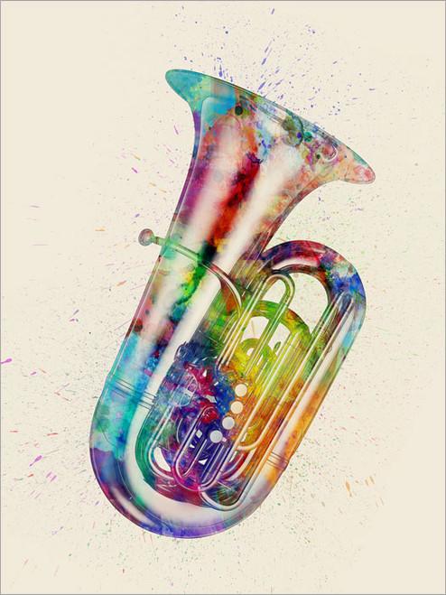 Tuba Poster Art Print