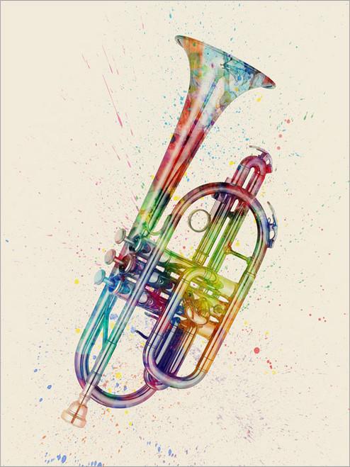Cornet Poster Art Print