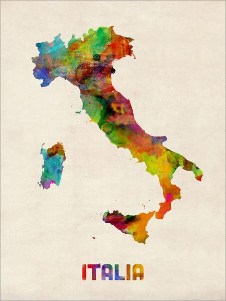 Italy Poster Art Print