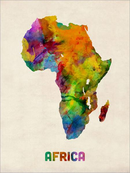 Africa Poster Art Print