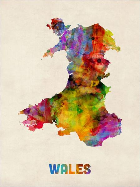 Wales Poster Art Print