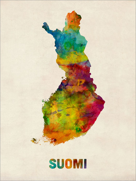 Finland Poster Art Print