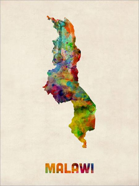 Malawi Poster Art Print