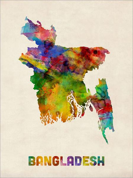 Bangladesh Poster Art Print