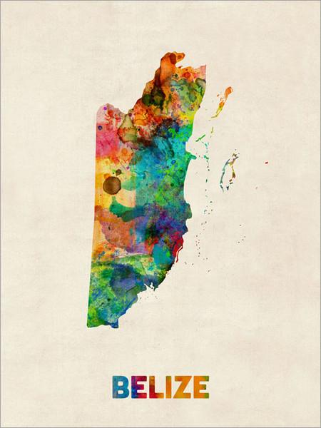 Belize Poster Art Print