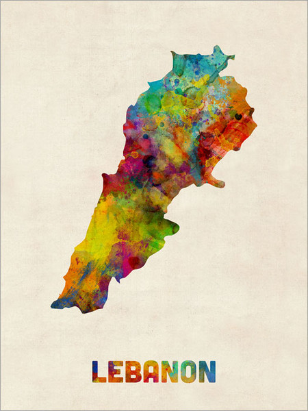 Lebanon Poster Art Print
