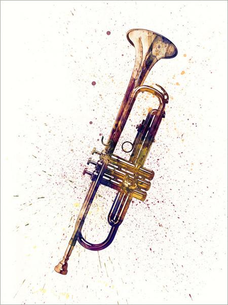 Trumpet Poster Art Print