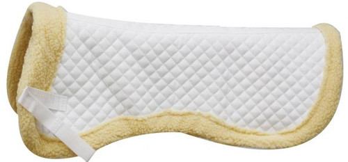 """Showman™ 23"""" x 18"""" Quilted Engilsh Half Pad"""