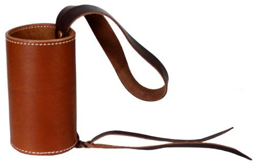 Showman Leather Drink Can Holder