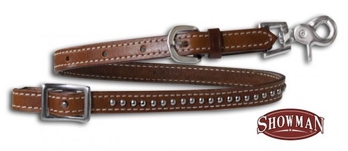 Showman ® Leather Wither Strap with Scissor Snap End
