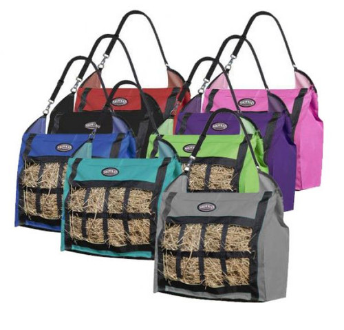 Showman ® Slow feed hay tote.
