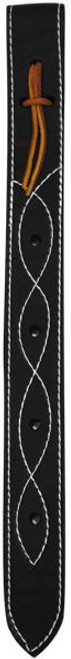 """Showman off billet is constructed of double ply and stitched leather. Measures 1.75"""" and is 18"""" long. Made in USA."""