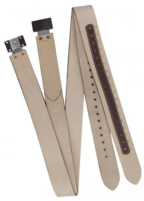 """Showman ® 2 3/4"""" wide Replacement WESTERN stirrup leathers."""