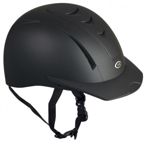 Equi Pro II helmet fron International Riding Helmets. -Matte Black