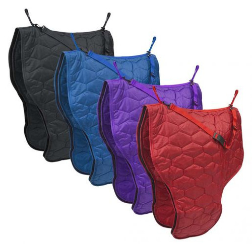 Diamond Quilted Heavy Nylon Saddle Carrier