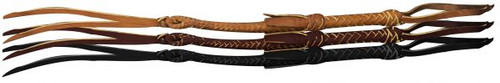 Leather Braided Riding Quirt