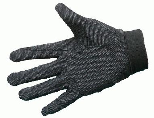 Breathable Cotton Knit Reinforced Riding Gloves