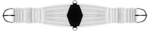 Showman Roper Style String Girth with Diamond Center
