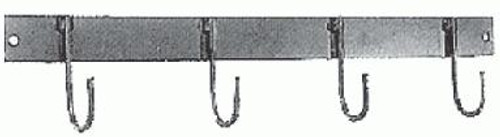 4 Hook Steel Tack Bar
