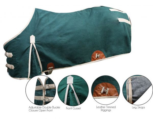 The 16oz Water Resistant Treated Canvas Showman Blanket