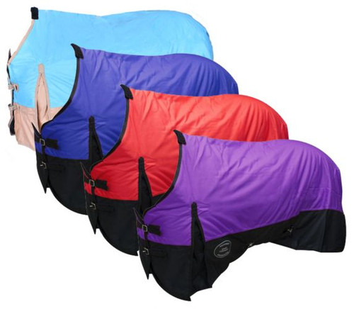 The Waterproof and Breathable Showman™  600 Denier Turnout Blanket