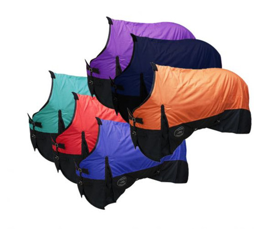The Waterproof and Breathable Showman™ 1200 Denier Turnout Blanket