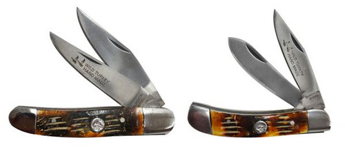 2 Piece  / 2 blade pocket knife set.