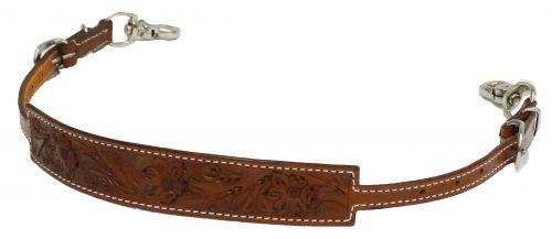 Showman ® Floral tooled wither strap.