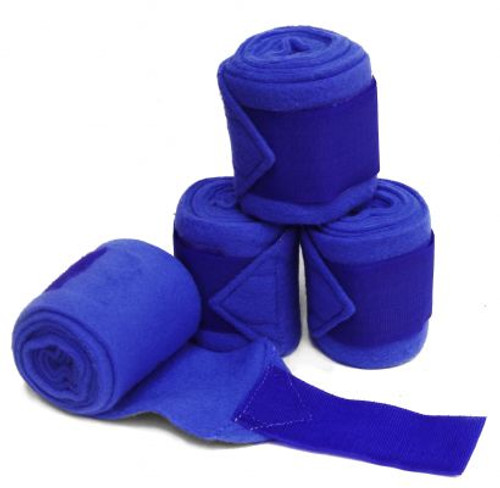 """Pony feece polo wrap. Measures 3.5"""" wide and 72"""" long. Has 2"""" Velcro closures. Sold in set of four."""