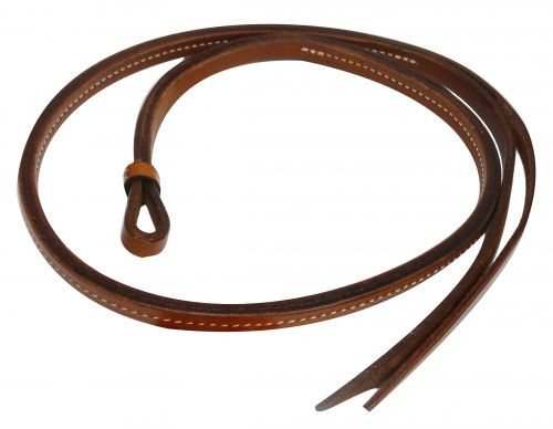 Showman ® 4 ft leather Over & Under whip.
