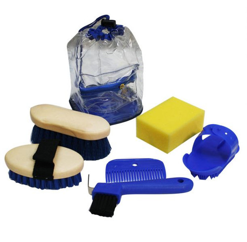 Showman kid's size 6pc grooming kit.