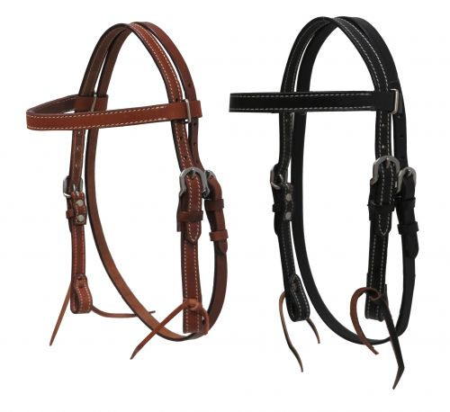 Showman ® MINI/ SMALL PONY headstall with reins.