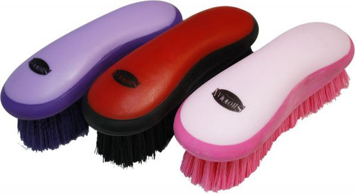 Showman Soft Grip Grooming Horse Brush