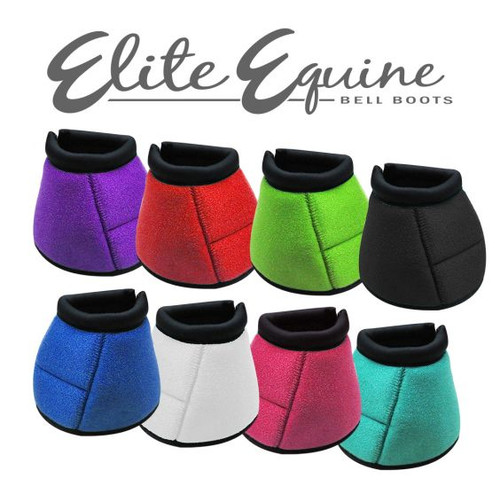 Showman® Elite Equine Bell Boot.  Sold in pairs.