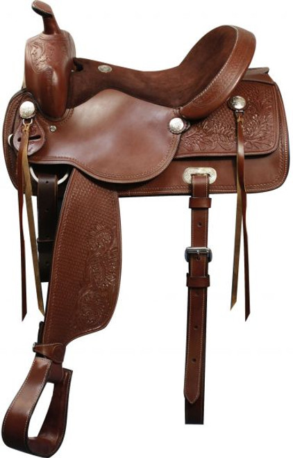 "16"", 17"" Double T Pleasure Style Saddle."