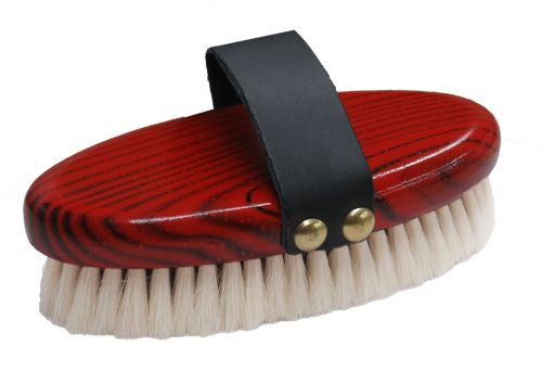 Showman® Extra soft goat hair finishing brush.