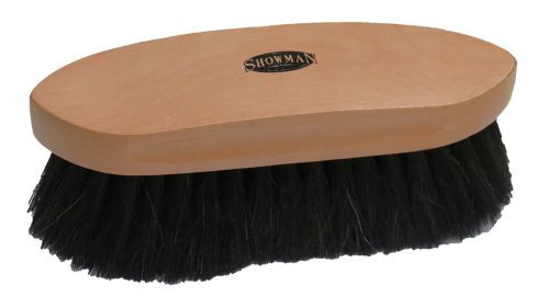 Showman® Extra soft horse hair finishing brush.
