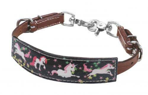 Showman ® PONY SIZE  Unicorn print wither strap.