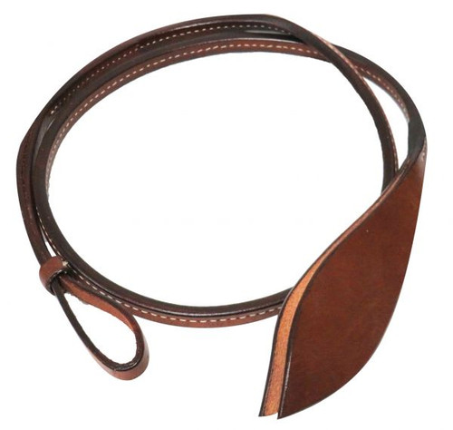 Showman ® 4ft leather Over & Under with popper.