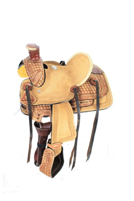 "10"" Double T  Pony saddle"